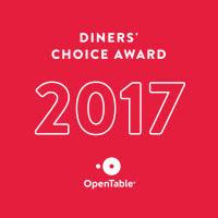 OpenTable 2017 Dinner's Choice Award
